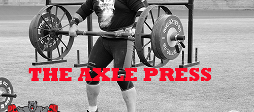 Training The Axle Press
