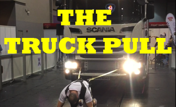 Training For A Truck Pull Event