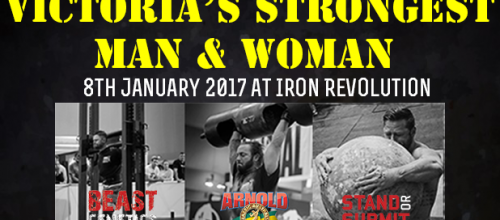 2016 Victoria's Strongest Man & Woman