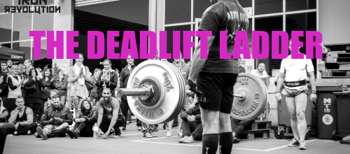 Training for the Deadlift Ladder